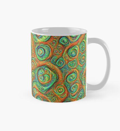 Green Red #DeepDream Mug