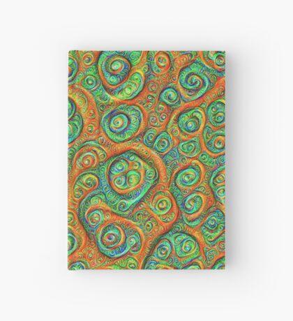Green Red #DeepDream Hardcover Journal