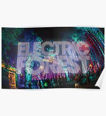 Sherwood Forest - Electric Forest Poster
