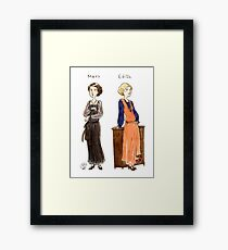 Mary-Edith Framed Print