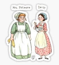 Mrs.Patmore-Daisy Sticker