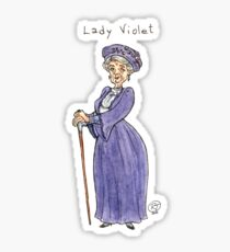 Lady Violet Sticker