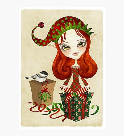 Jollybelle Elf Photographic Print