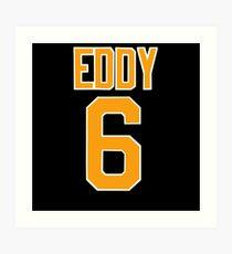 Cullen Eddy - Sheffield Steelers Ice Hockey Art Print