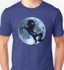 Unicorn, moon, fullmoon, fantasy, magic, horse, fantastic, beast T-Shirt