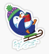Penguin Happy Time Sticker