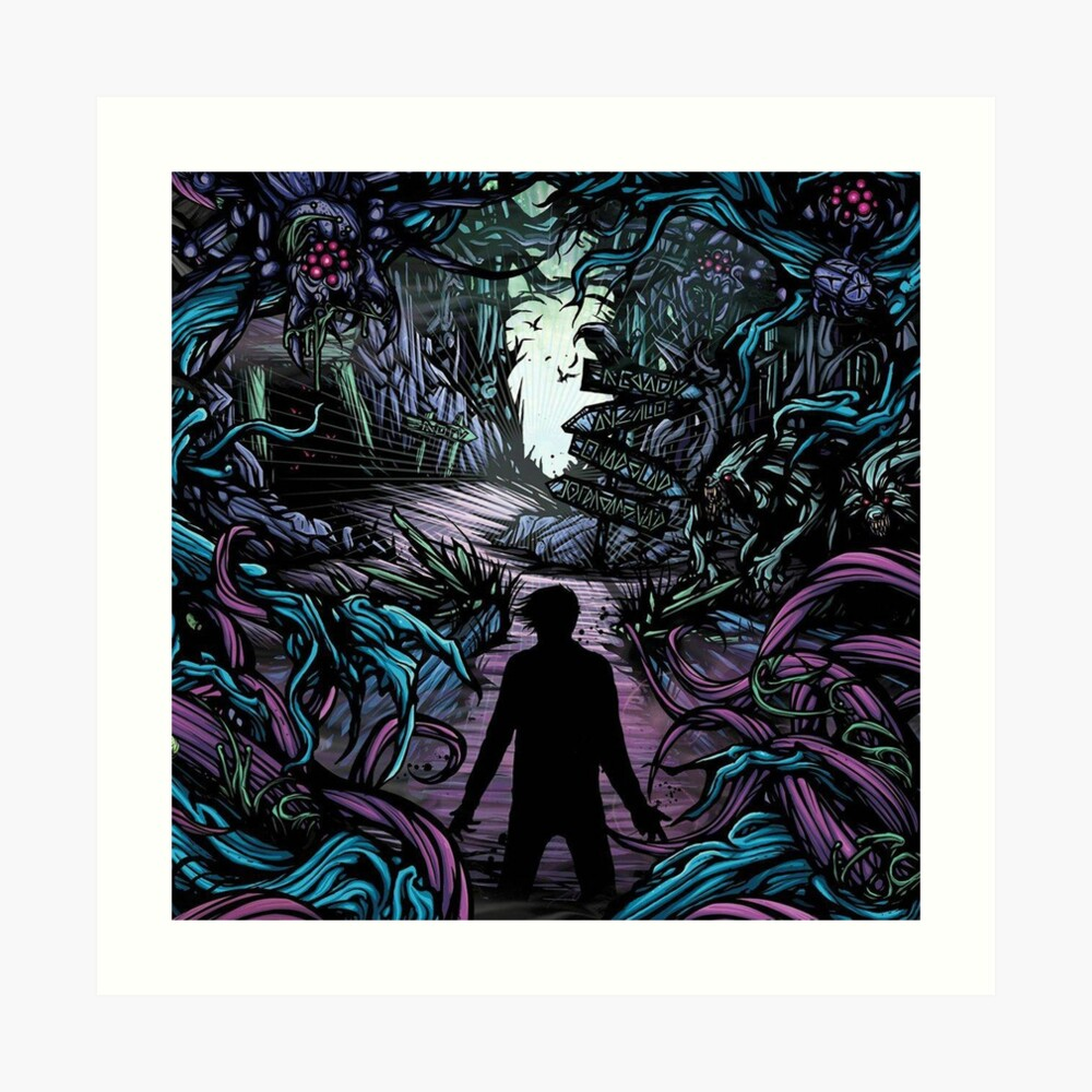 Homesick A Day To Remember Art Print