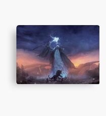 Thunder God  Canvas Print