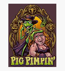 Pig Pimpin Muppets Parody T-Shirt Photographic Print
