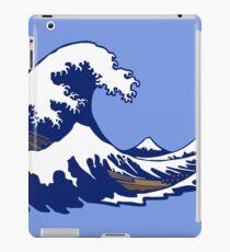 wave wave hokusai iPad Case/Skin