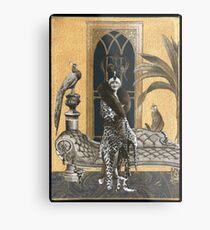 Mme. Ocelot & Babou Metal Print