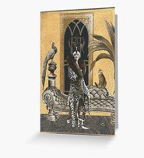 Mme. Ocelot & Babou Greeting Card