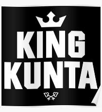 King Kunta (WHITE) Poster