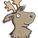reindeer love by Tessa  Rath