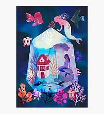 The house under the water Photographic Print