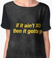 The Weeknd XO Women's Chiffon Top