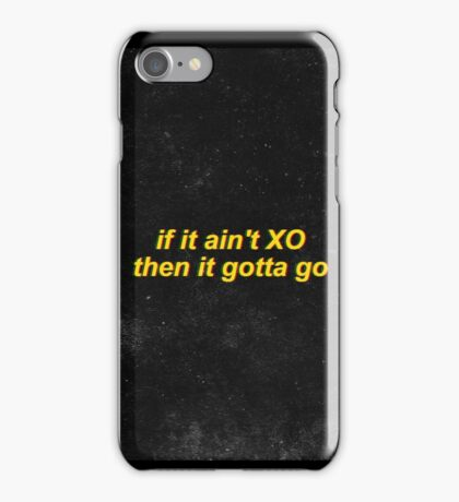 The Weeknd XO iPhone Case/Skin