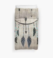 Bow, Arrow, and Feathers Duvet Cover