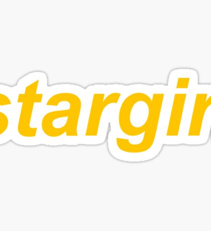 Stargirl Sticker