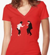 Teenage Wedding Women's Fitted V-Neck T-Shirt