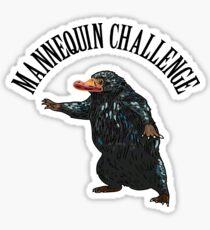 Mannequin Challenge Sticker