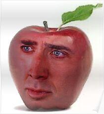 Nicolas Cage/Apple Poster