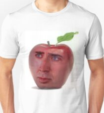 Nicolas Cage/Apple T-Shirt