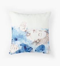 My Ophelia - Meditation on Water Throw Pillow