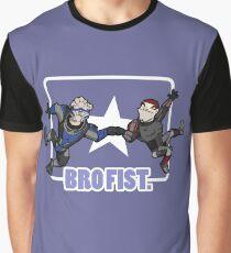 Bro's 4 life - Mass Effect Graphic T-Shirt