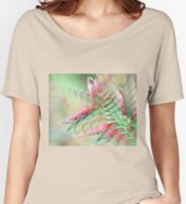 Flowers in abstract form Women's Relaxed Fit T-Shirt