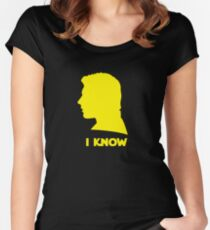I Know Women's Fitted Scoop T-Shirt