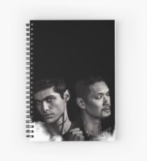 Malec Shadowhunters S2 Spiral Notebook