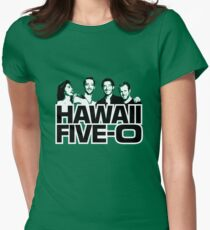 Hawaii Five-O: Time Out Womens Fitted T-Shirt