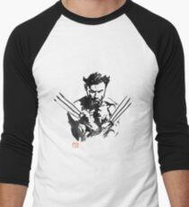 wolverine Men's Baseball ¾ T-Shirt