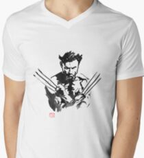 wolverine Men's V-Neck T-Shirt