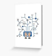 Science a network Greeting Card
