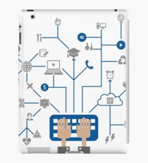 Science a network iPad Case/Skin