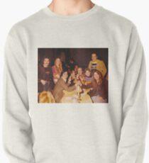 At Dinner Pullover Sweatshirt