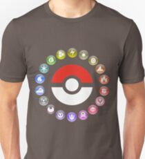 Pokemon Type Wheel T-Shirt