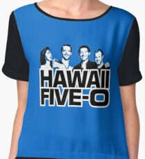 Hawaii Five-O: Time Out Chiffon Top