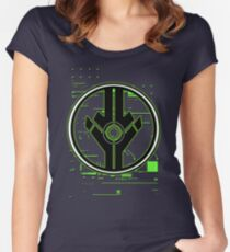 Cyber Portal Women's Fitted Scoop T-Shirt