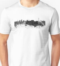Dortmund skyline in black watercolor T-Shirt