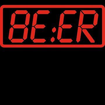 Bier Uhr von geekchic