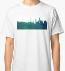 Cyanotype Design Abstract Landscape 3 Classic T-Shirt