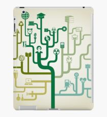 Science abstraction iPad Case/Skin