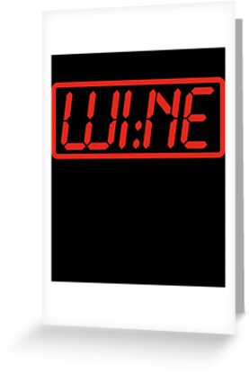 Wine Time by geekchic  tees