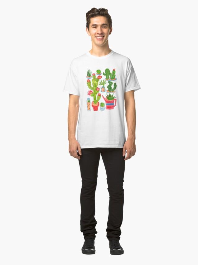 Alternative Ansicht von Kaktus Classic T-Shirt