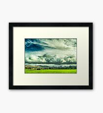 Epic Skies 2 Framed Print