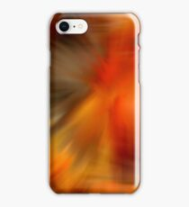 Abstract Orange Brown Yellow Colors iPhone Case/Skin