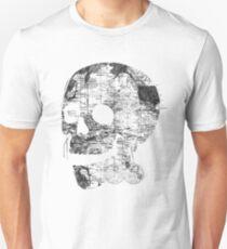 Skull Wanderlust Black and White Unisex T-Shirt